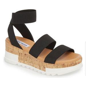 Steve Madden Bandi Platform Wedge Sandals